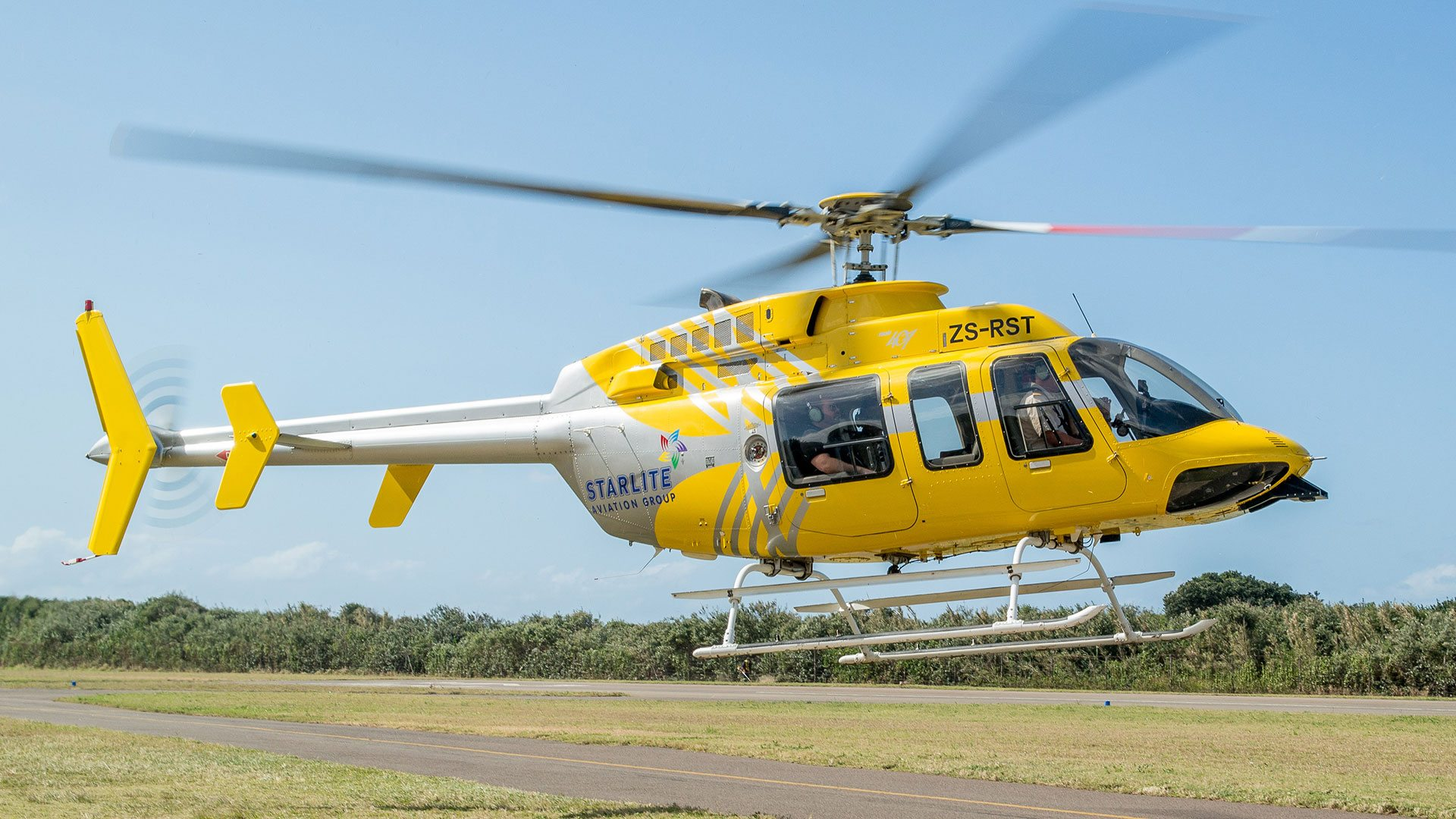 Private Helicopter Hire - Bell 407