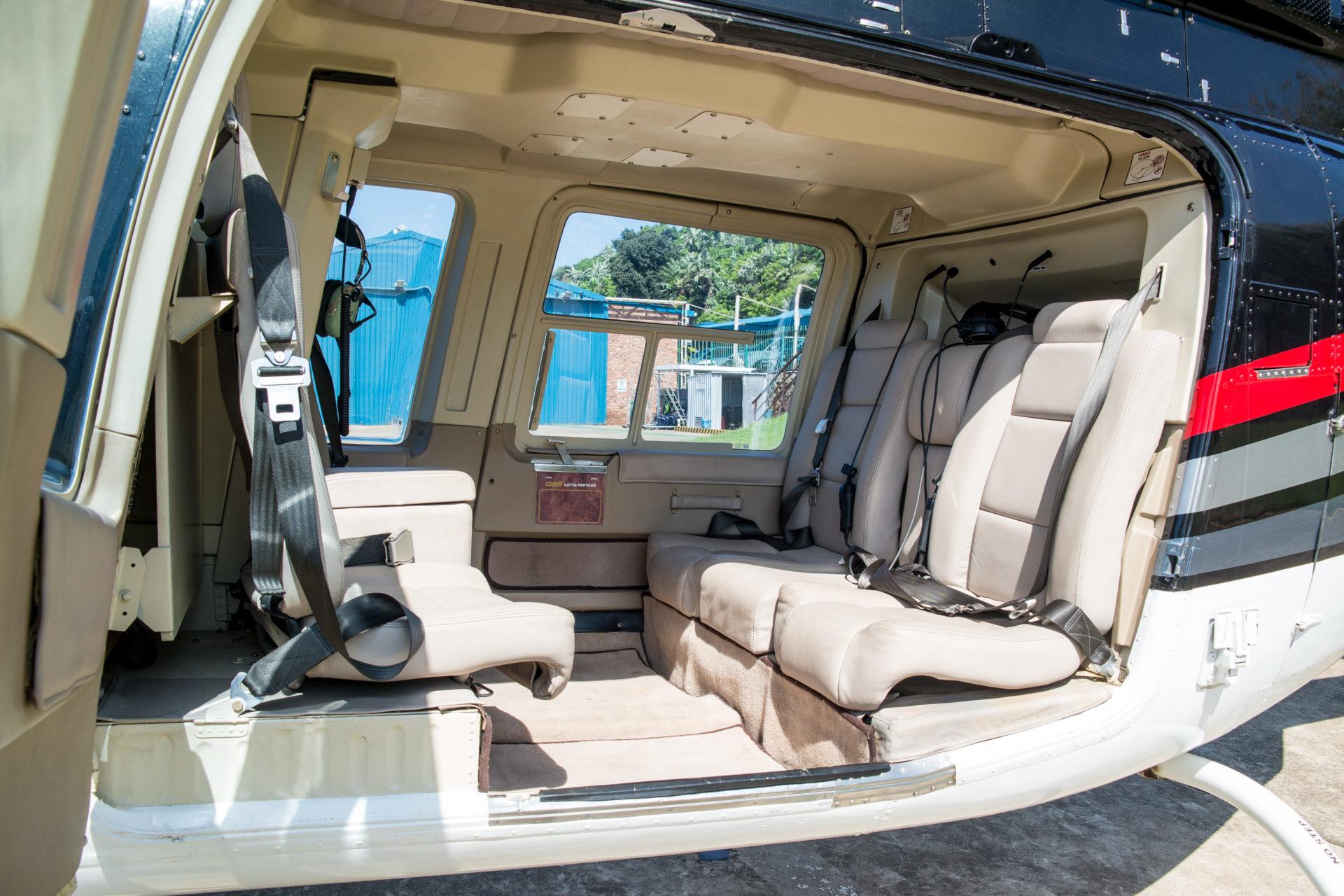 Bell 206L Interior