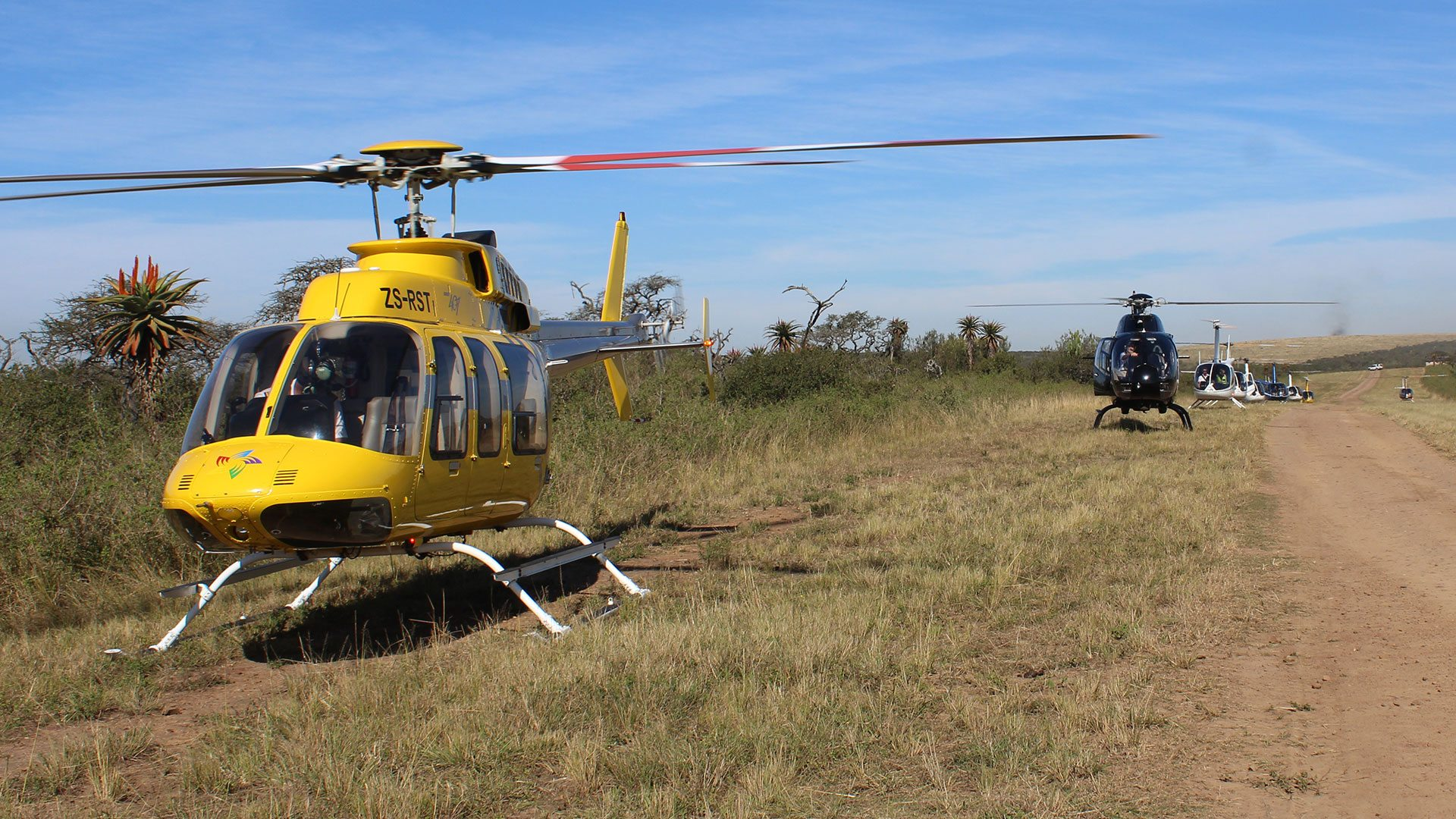 Durban Helicopter Flight to Tala Private Game Reserve