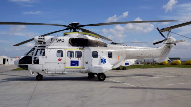 Airbus AS 332 C1e Helicopter