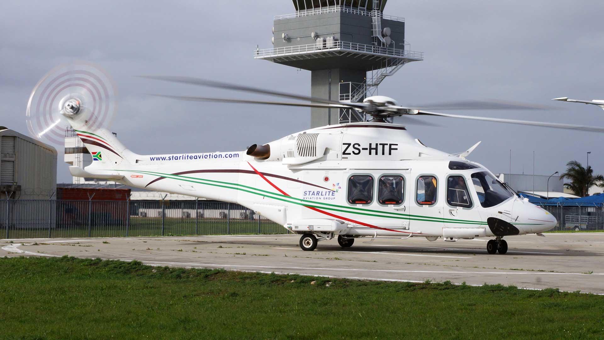 Leonardo AW 139 Helicopter