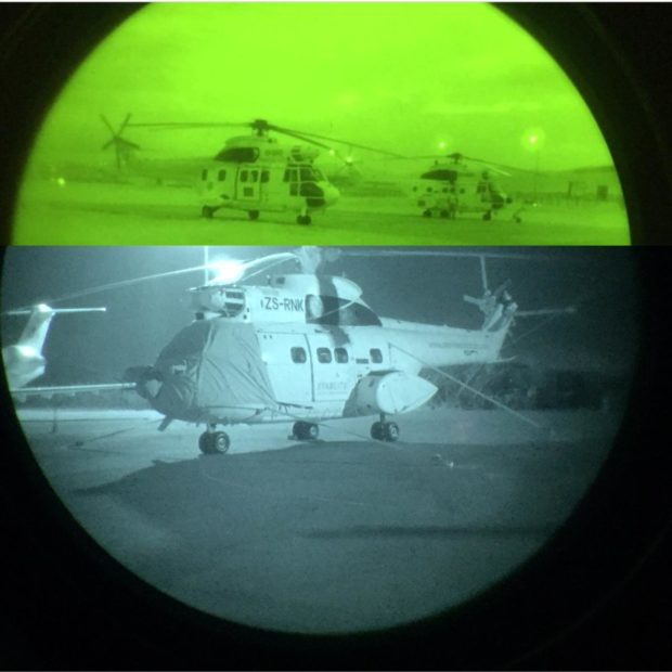 Different NVG Goggles