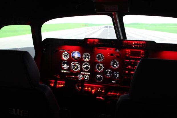 Elite Evolution S923 FNPT II MCC Aeroplane Simulator