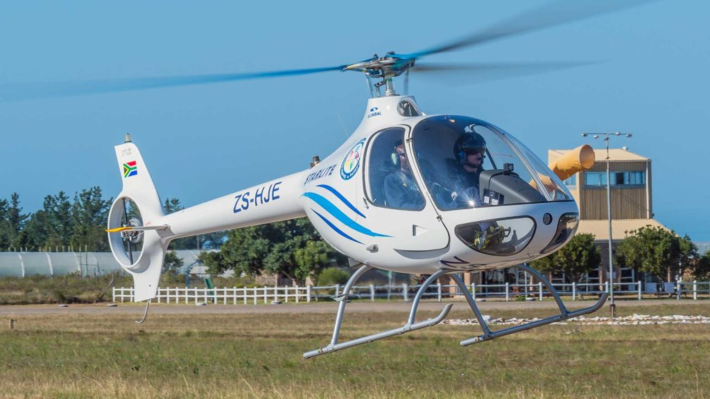 Guimbal Cabri G2 Helicopter - Intro Flight Lesson